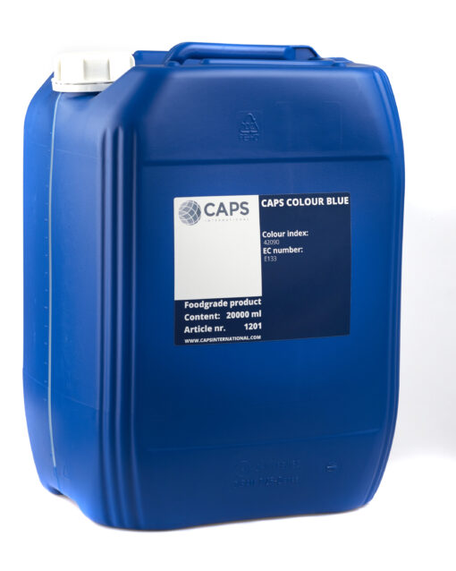 picture of container of blue ink